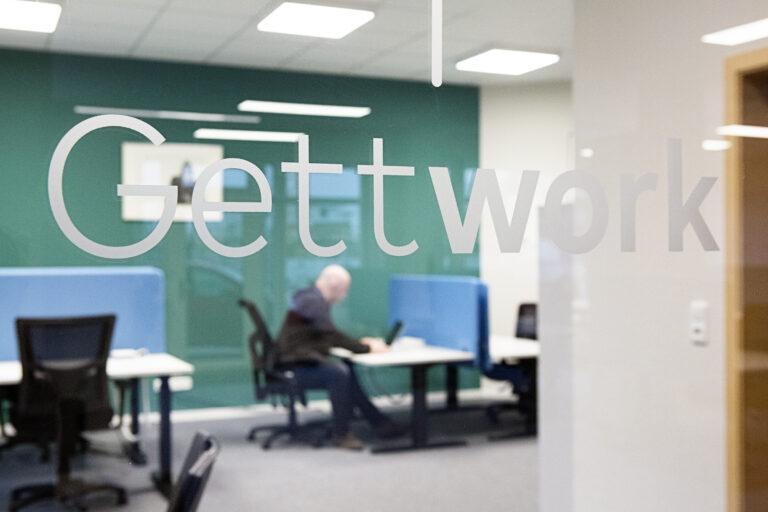 kleiner Büroraum